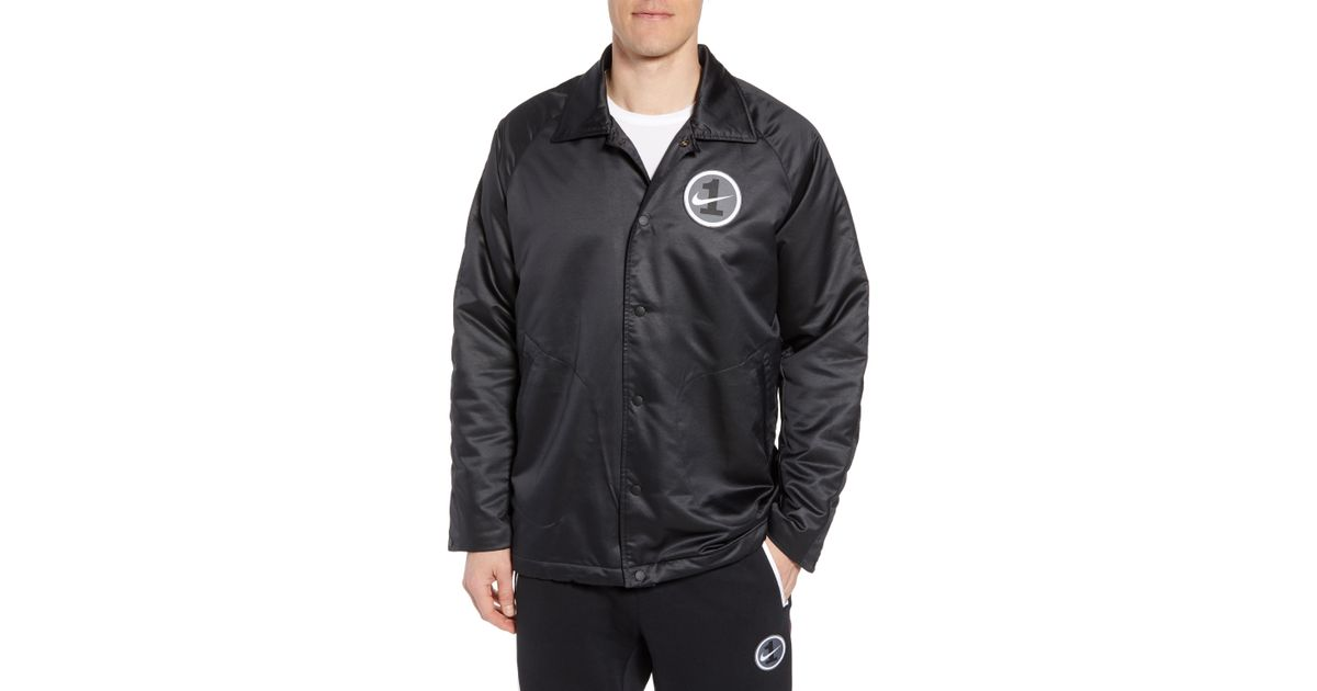 Nike Black Air Force One Coach Jacket for Men Lyst