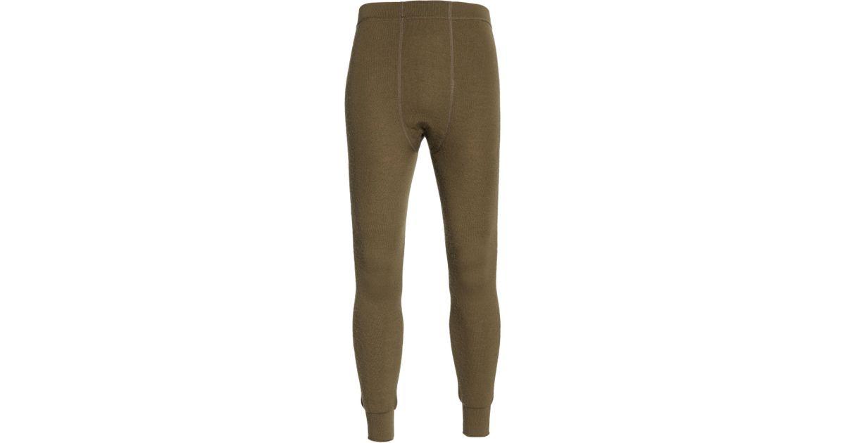 a616d86108214 Woolpower Long Johns 200 Thermal Leggings in Green for Men - Lyst