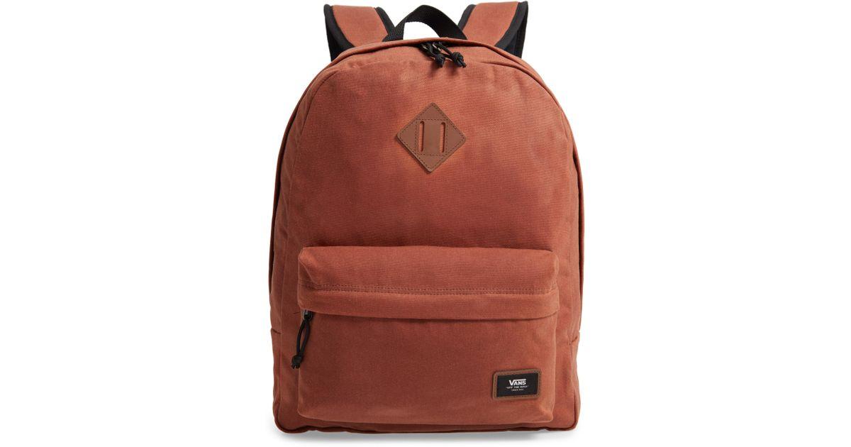 3484c870e6e Lyst - Vans Old Skool Plus Backpack in Brown for Men