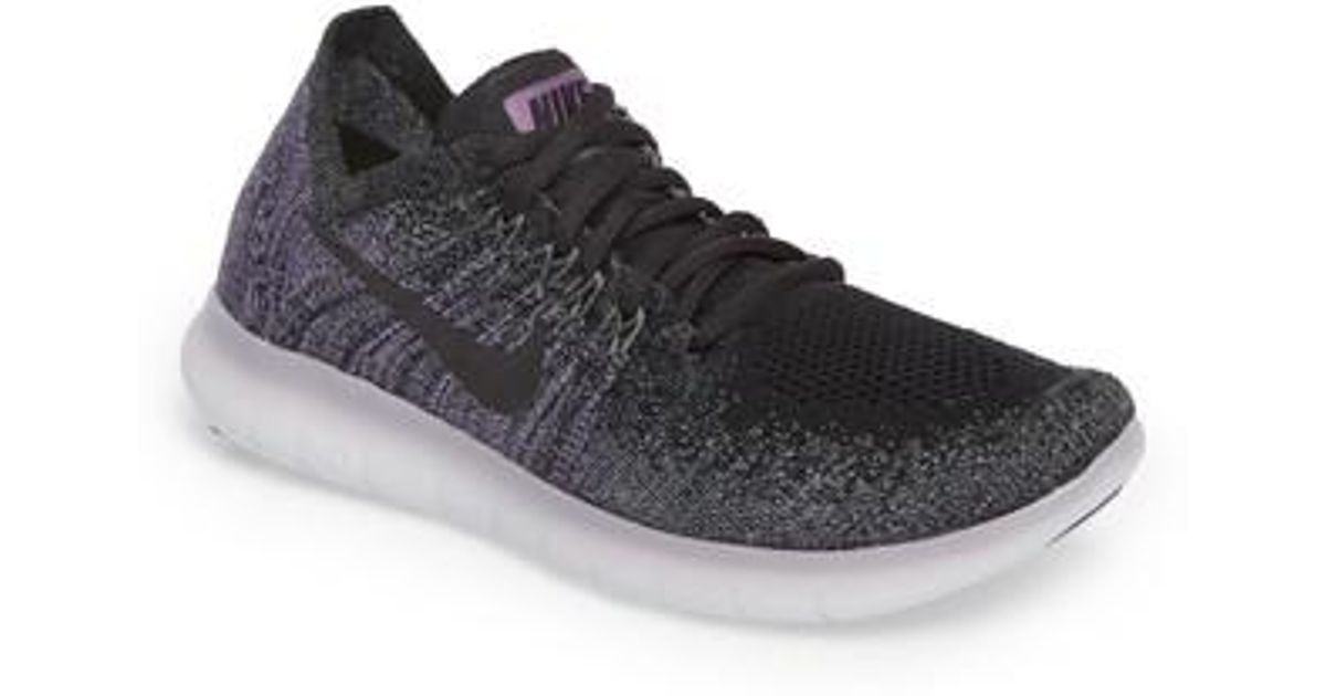 Black Running Run Flyknit Shoe In For Free Nike 2 Lyst Men yvnwm80NO