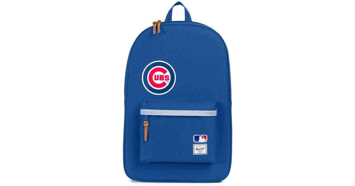 10566b9f311 Lyst - Herschel Supply Co. Heritage Chicago Cubs Backpack in Blue for Men