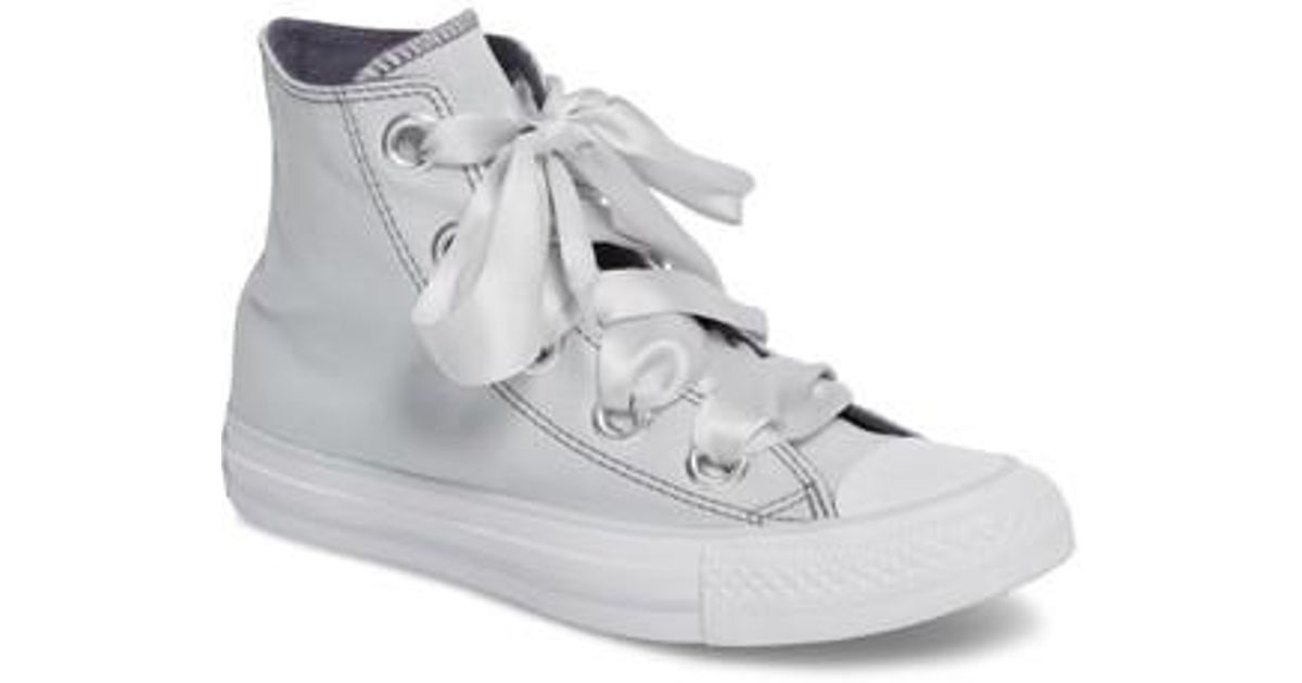 de31b258466 Lyst - Converse Chuck Taylor All Star Big Eyelet High Top Sneaker