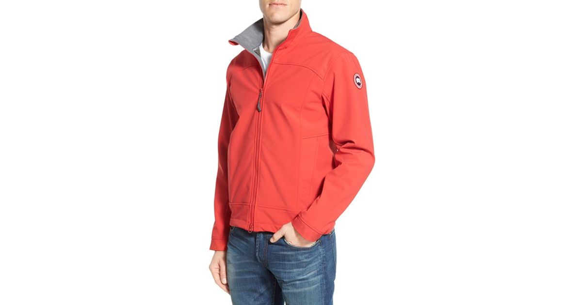 Canada Goose expedition parka outlet discounts - Canada goose 'bracebridge' Water Resistant Jacket in Red for Men ...
