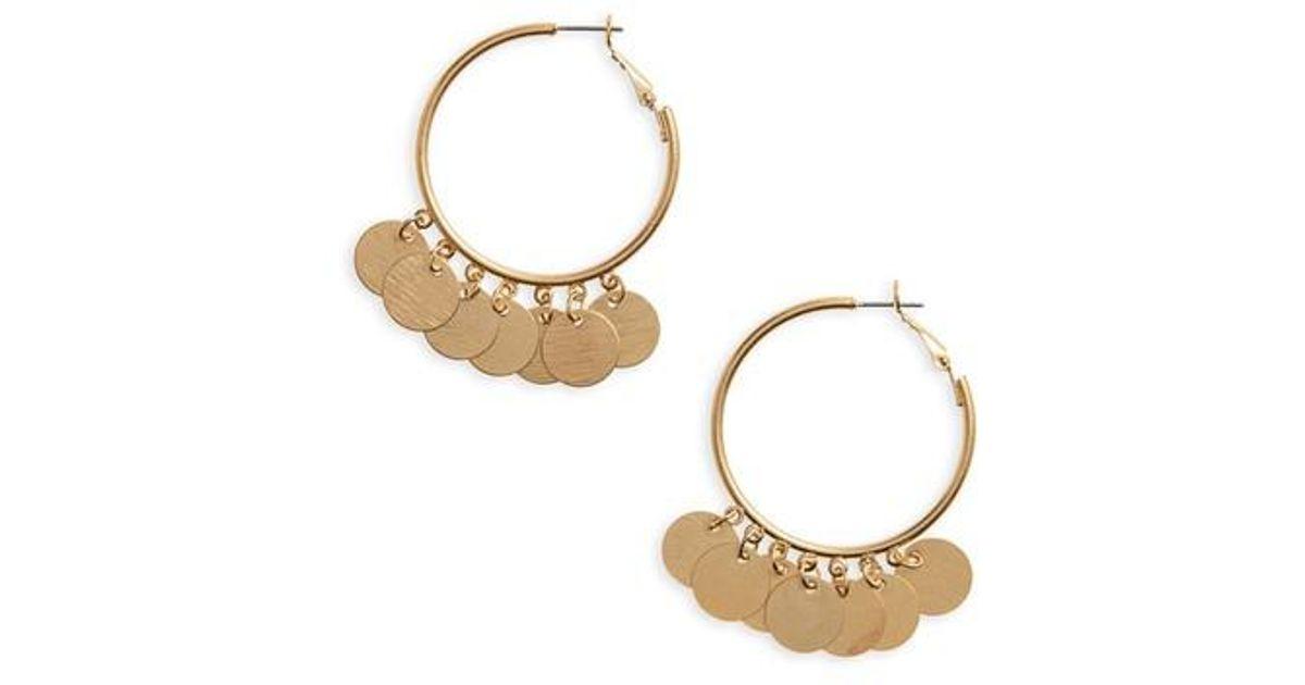 Panacea Shiny Hoop Earrings i4c7q