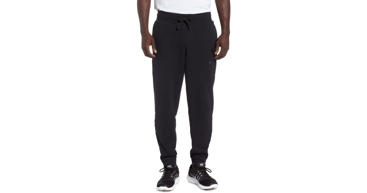 Nike Chicago Bulls Courtside Snap Track Pants In Black For Men Lyst