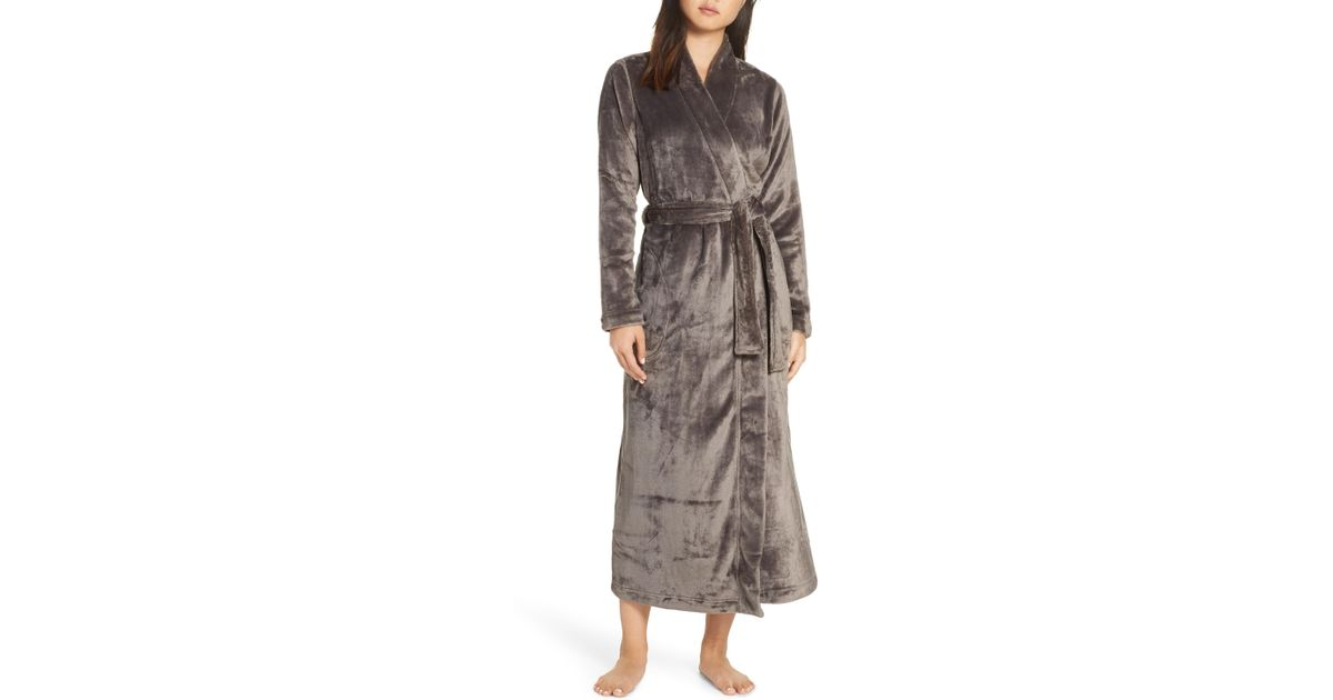 Lyst - UGG Ugg Marlow Double-face Fleece Robe f5416d106