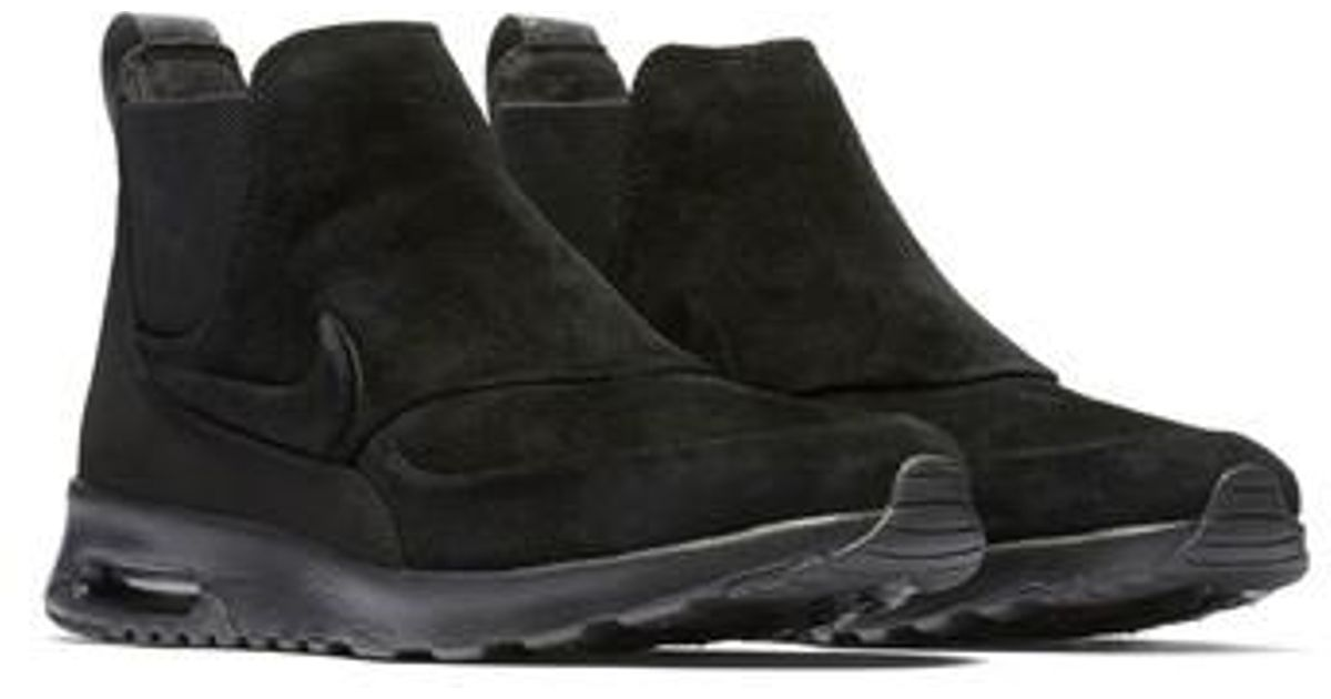 timeless design dc424 63f78 Lyst - Nike Air Max Thea Mid-top Sneaker in Black
