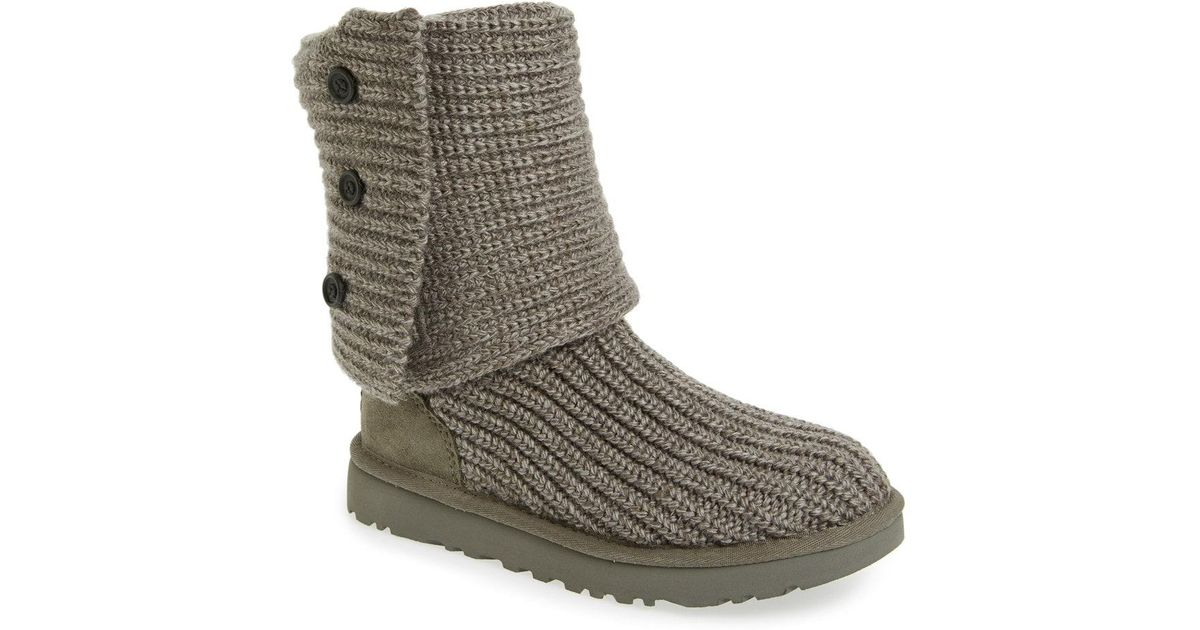 e3ce2ffc108 Ugg - Multicolor Ugg Classic Cardy Ii Knit Boot - Lyst
