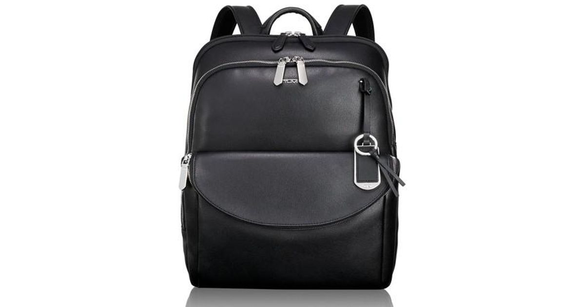 5116a95bb Lyst - Tumi Stanton Hettie Leather Backpack in Black