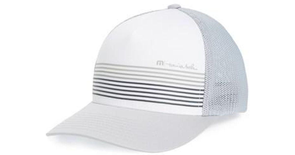 hot sale online 546fe 4294f ... australia lyst travis mathew braids trucker hat in white for men e1067  b77f5