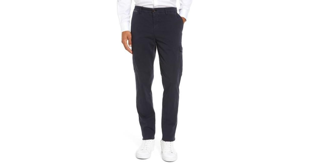 Cargo trousers grey Eleventy ALJPp