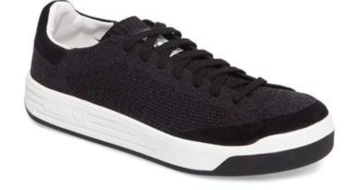 68c256140b2158 Lyst - adidas Rod Laver Super Primeknit Sneaker in Black for Men