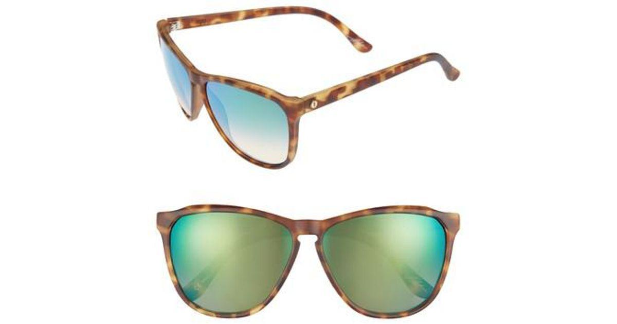 aca91170b8e Lyst - Electric  encelia  61mm Retro Sunglasses - Pineapple Tortoise  Green  in Green