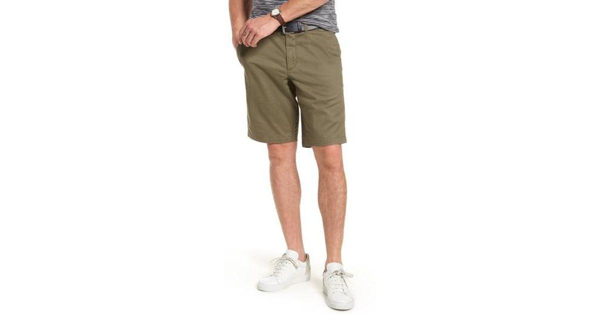 57997747a6 Lyst - Nordstrom 1901 Ballard Slim Fit Stretch Chino 11-inch Shorts in  Green for Men