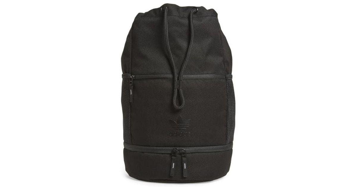 d8db0c9f82 Lyst - Adidas Originals Bucket Backpack - in Black
