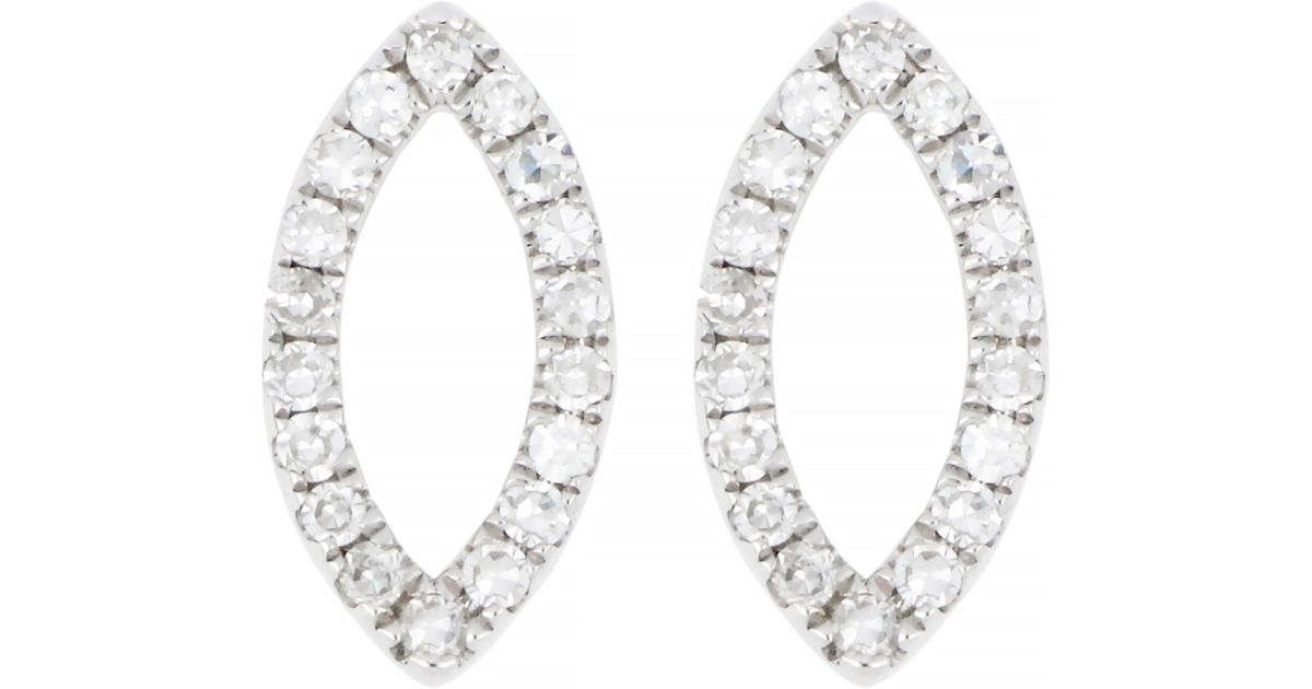 15df42f7a CARRIERE JEWELRY Carriere Diamond Marquise Stud Earrings (nordstrom  Exclusive) - Lyst