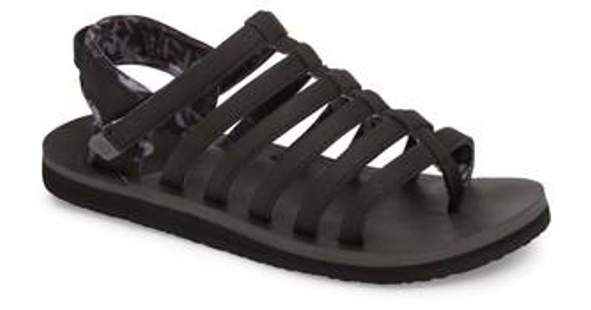 ced388153b33 Lyst - The North Face Base Camp Plus Ii Gladiator Sandal in Black