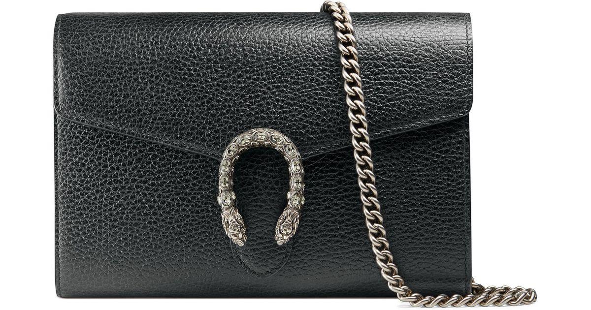 063c18168b6 Gucci Dionysus Wallet On Chain Black - Best Photo Wallet ...