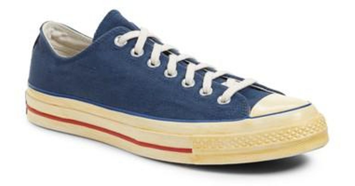 306a256008f Lyst - Converse Chuck Taylor All Star 70 Low Top Sneaker in Blue for Men