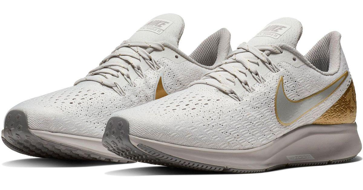 287cc6735491b Lyst - Nike Air Zoom Pegasus 35 Premium Running Shoe in Gray