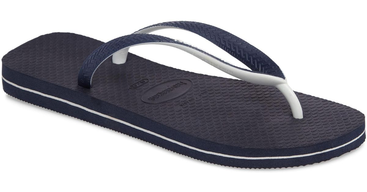 a9f8d3ddf37aa3 Lyst - Havaianas Havianas Top Mix Usa Flag Flip Flop in Blue for Men