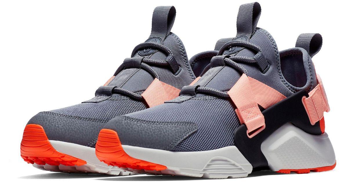 4bae4658a320d Lyst - Nike Air Huarache City Low Sneaker in Gray