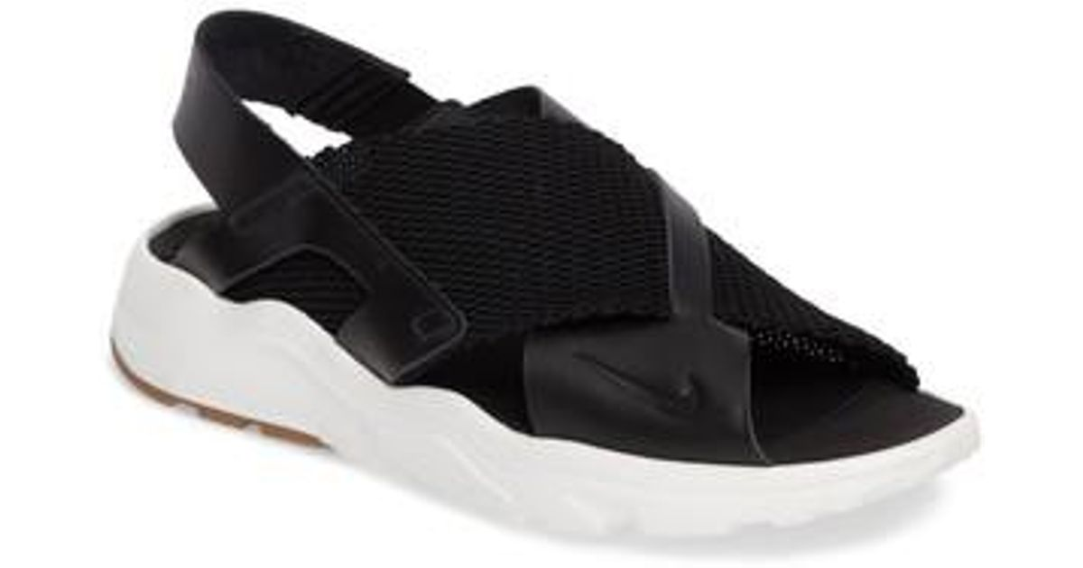 01639eb56 ... promo code for nike air huarache ultra sport sandal in black lyst 25cf7  2fd40