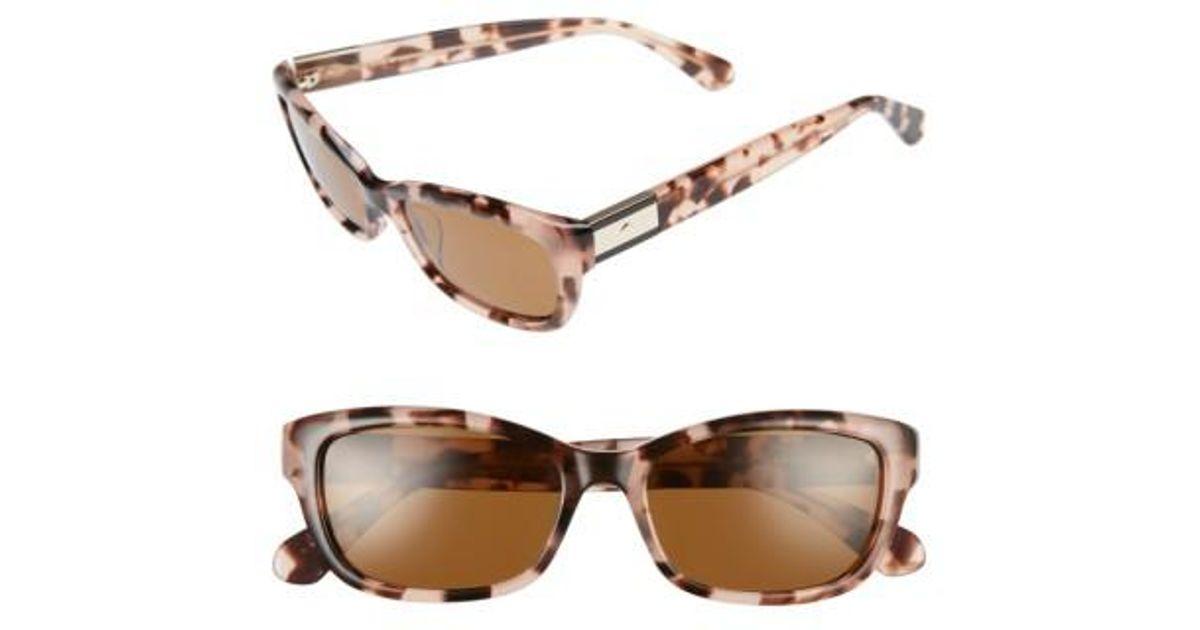 c8bb0eae64aac Kate Spade Marilee 53mm Polarized Sunglasses - Lyst