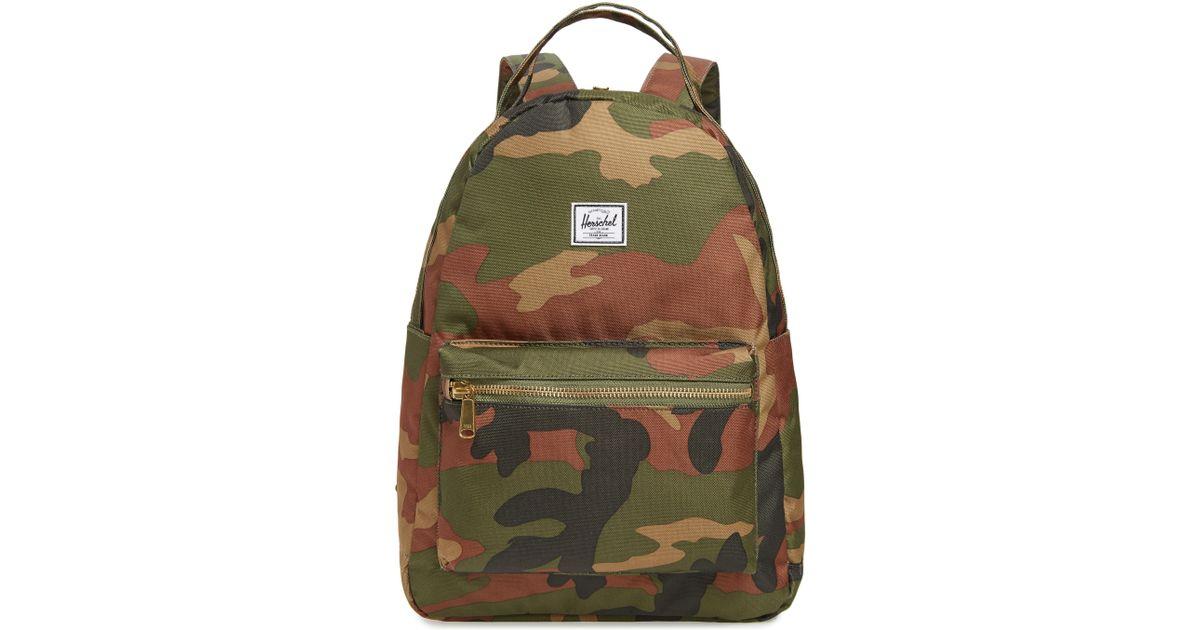 c5fa95a63c33 Lyst - Herschel Supply Co. Nova Mid Volume Backpack in Green