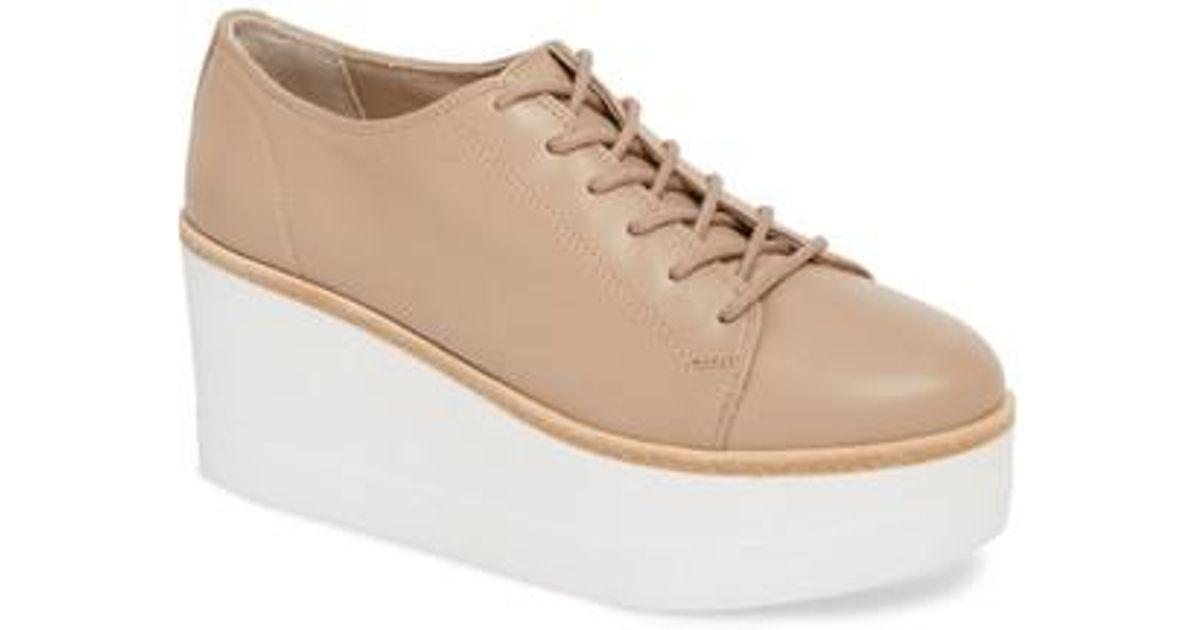 9ff50ff7b2f Lyst - Steve Madden Kimber Platform Sneaker in Natural