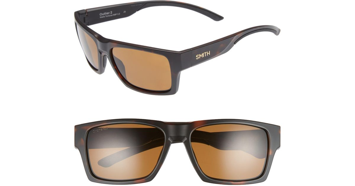 91277f265c Lyst - Smith Outlier 2 Xl 59mm Chromapop(tm) Polarized Sunglasses - for Men