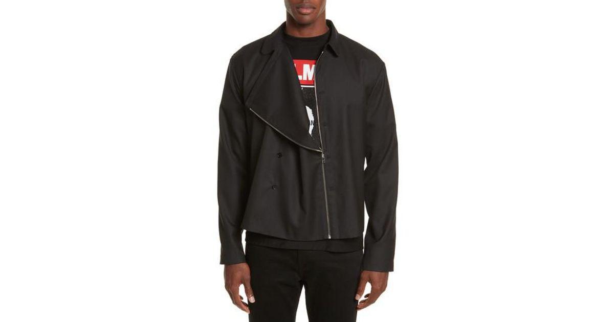 79ffa8b081db Lyst - Helmut Lang Expandable Jacket in Black for Men
