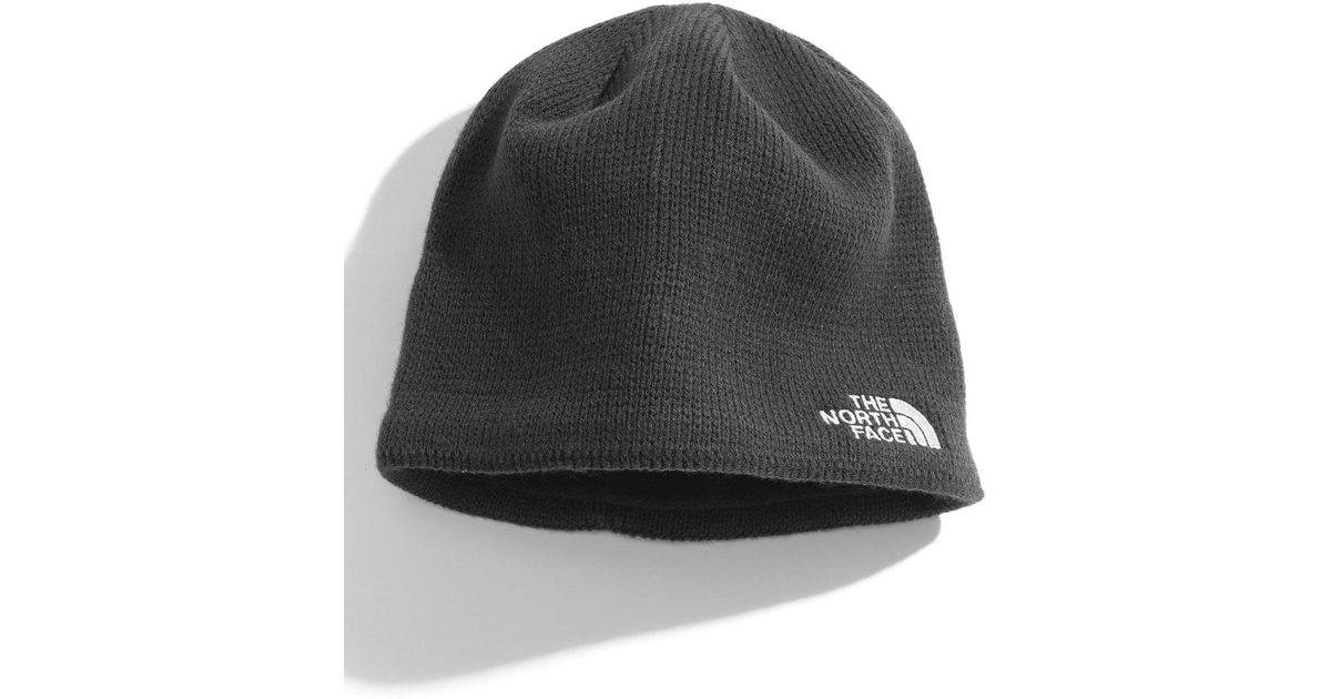 Lyst - The North Face Bones Fleece Lined Beanie in Gray 48f94299897