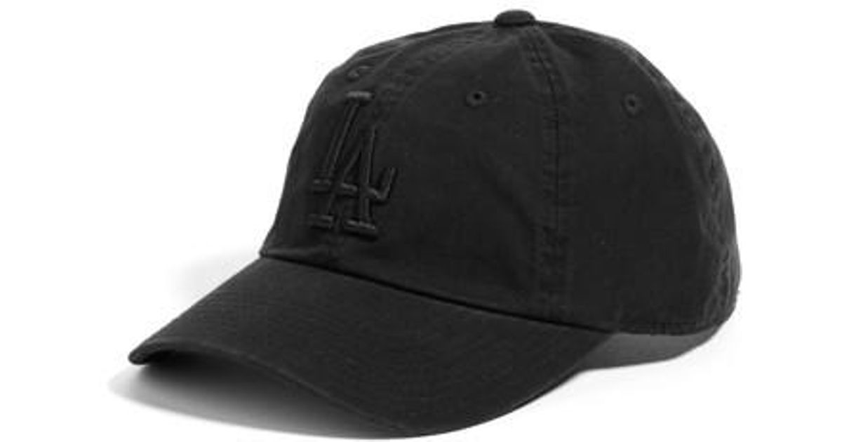 6205fddf9c3 Lyst - American Needle Ballpark - Los Angeles Dodgers Baseball Cap in Black  for Men
