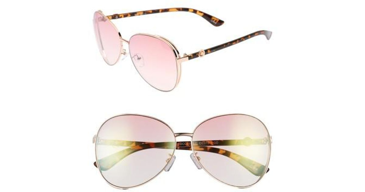 ebd00d1aeb Lyst - Circus By Sam Edelman Satellite 51mm Aviator Sunglasses