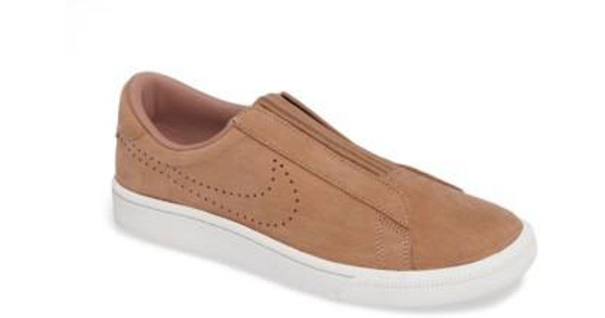b817be86f19a32 ... Lyst - Nike Classic Ez Slip-on Tennis Shoe in Brown crazy price 7108c  d8547  Toki Men ...