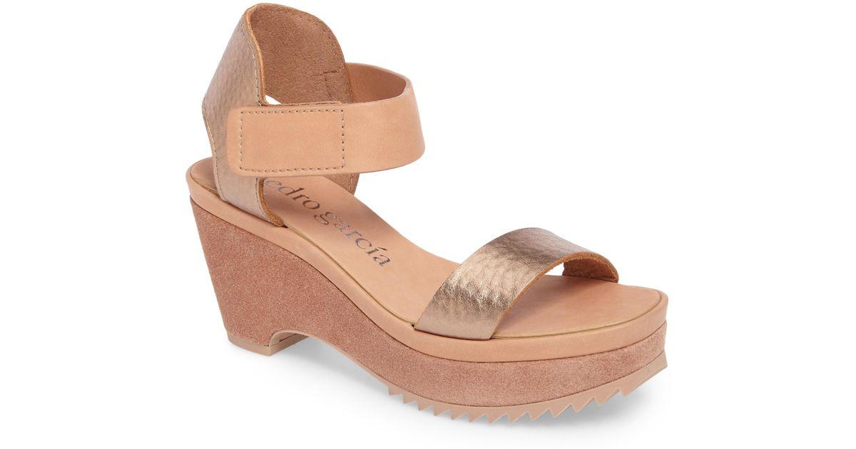 3c6a9e42903 Lyst - Pedro Garcia Franses Flatform Sandal in Brown