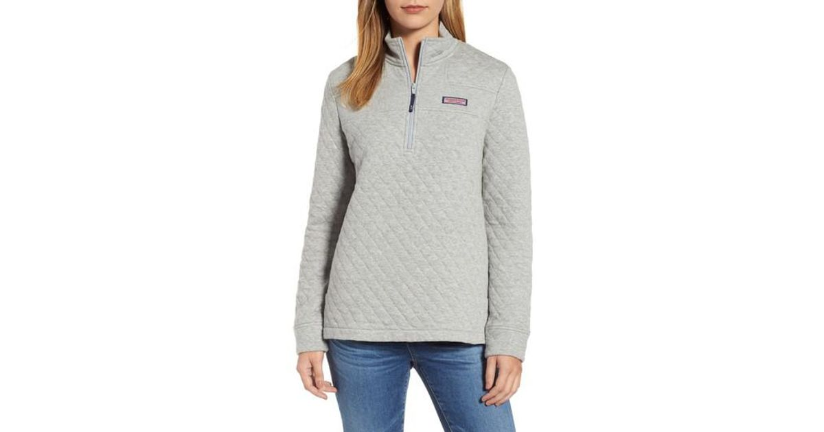 Lyst Vineyard Vines Shep Quilted Quarter Zip Pullover In