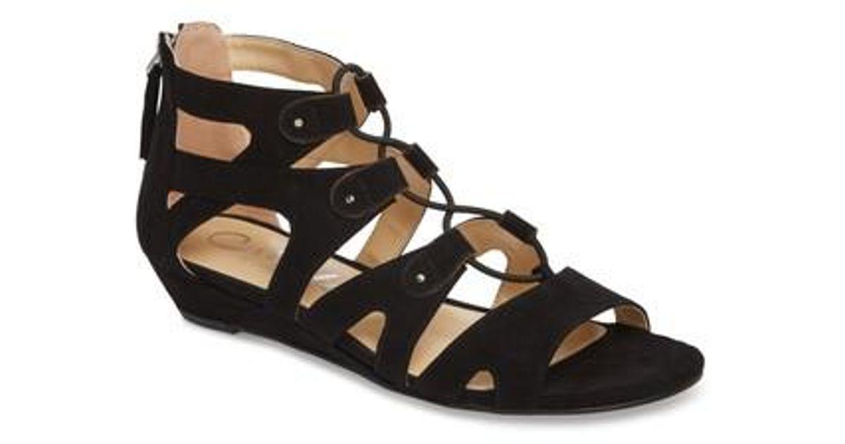 Callisto Women's Lexx Lace-Up Sandal