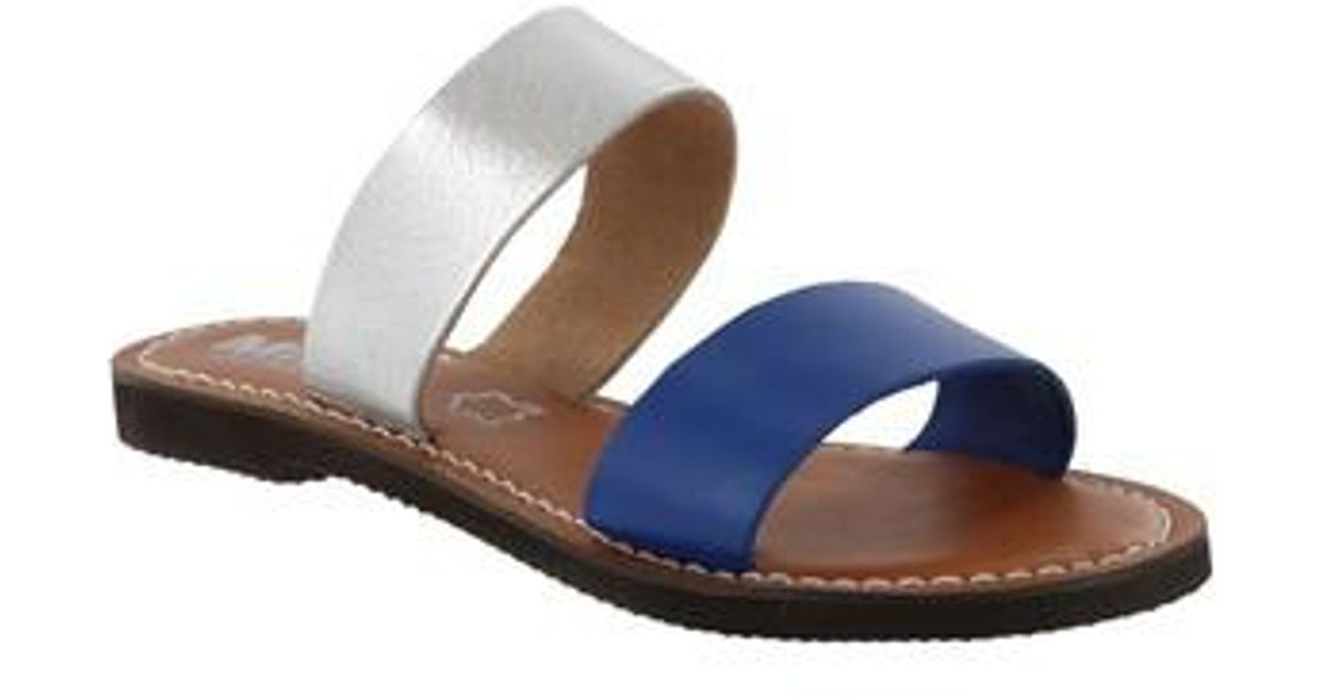 MIA Shoes Flat Slide Sandals - Nila clearance 100% original cheap free shipping shop 6aipirqj9M