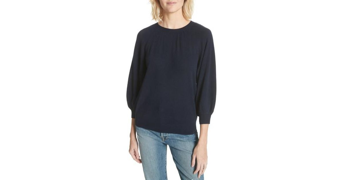 lyst joie calendae cashmere sweater in blue