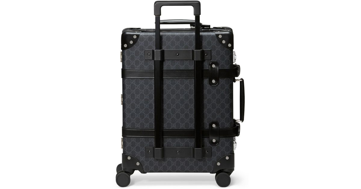 2b658f7606c963 Lyst - Gucci Globe-trotter Gg Supreme Canvas 21-inch Carry-on - in Black