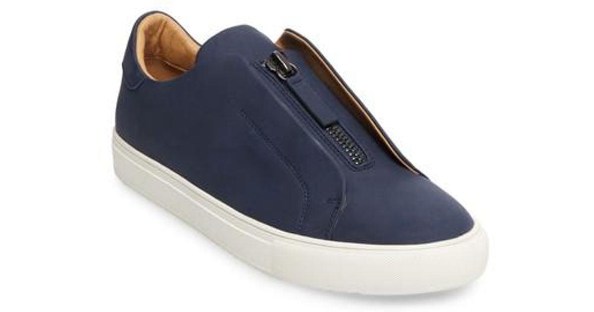 955bd092989 Steve Madden - Blue Everest Zip Sneaker - Lyst