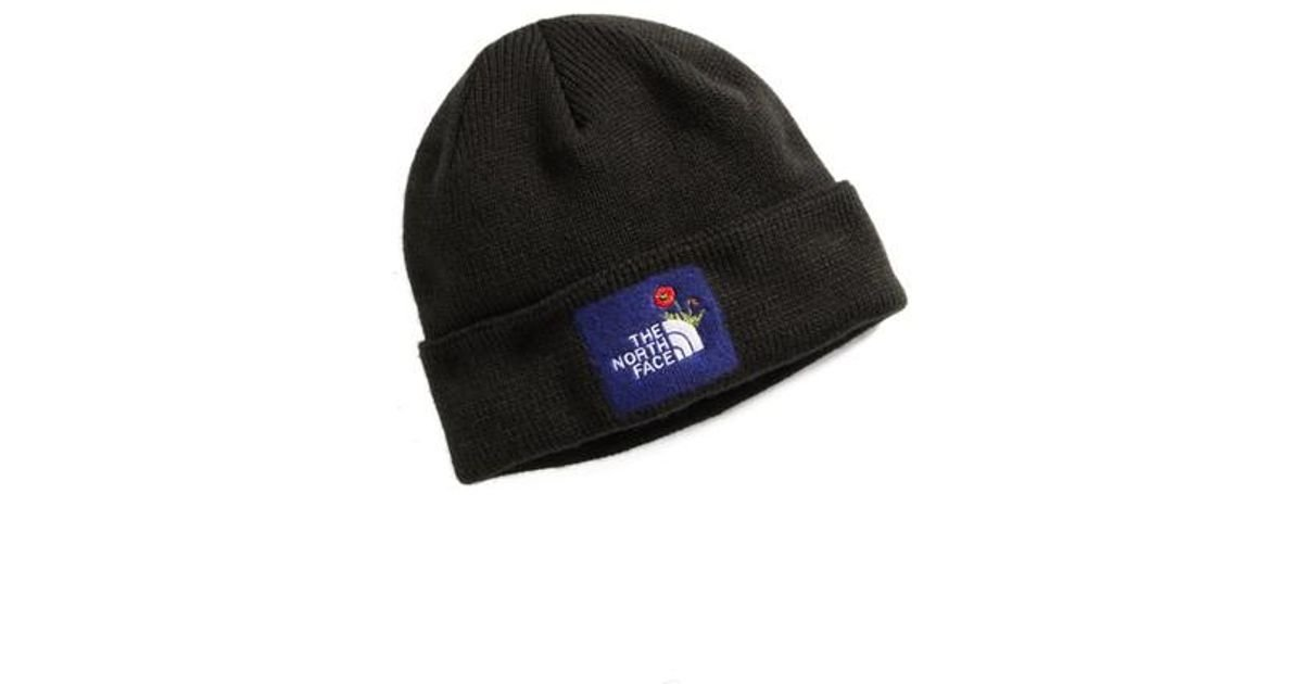 3eb7092f4db07 Lyst - The North Face Felted Logo Beanie in Black for Men