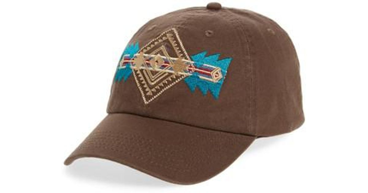 a57c7243f4d Lyst - Pendleton Embroidered Ball Cap in Brown for Men