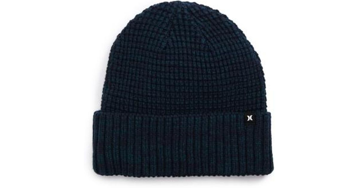 Lyst - Hurley Jacare Knit Cap in Green for Men 789699d7d4c