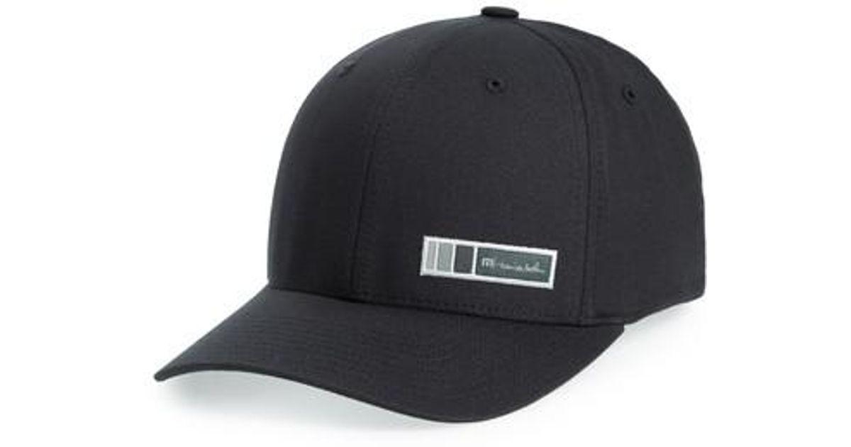 new products 03909 9ace6 ... australia lyst travis mathew outlast logo baseball cap in blue for men  27e06 79699
