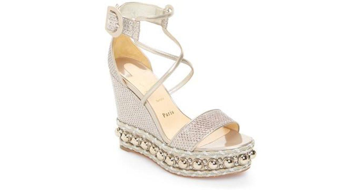 Christian Louboutin Chocazeppa Wedge Sandals b6P5Op