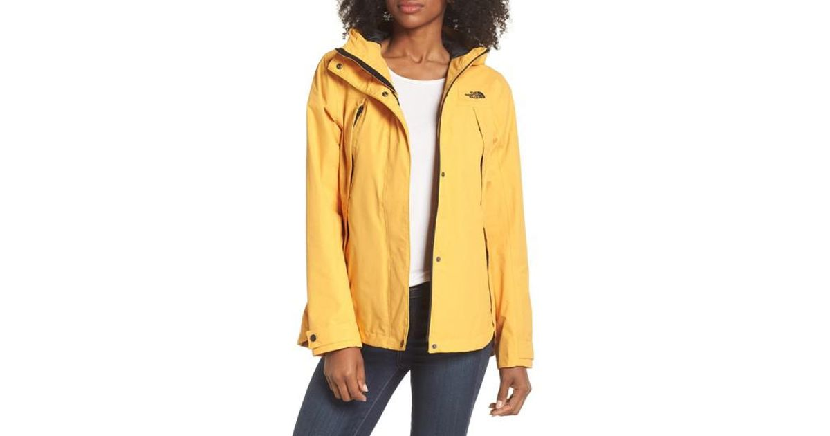 90909a1fd518 Lyst - The North Face Ditmas Rain Jacket in Yellow