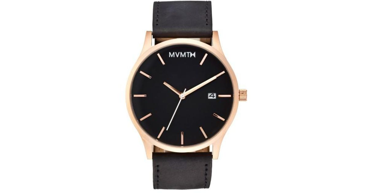 mvmt black rose gold